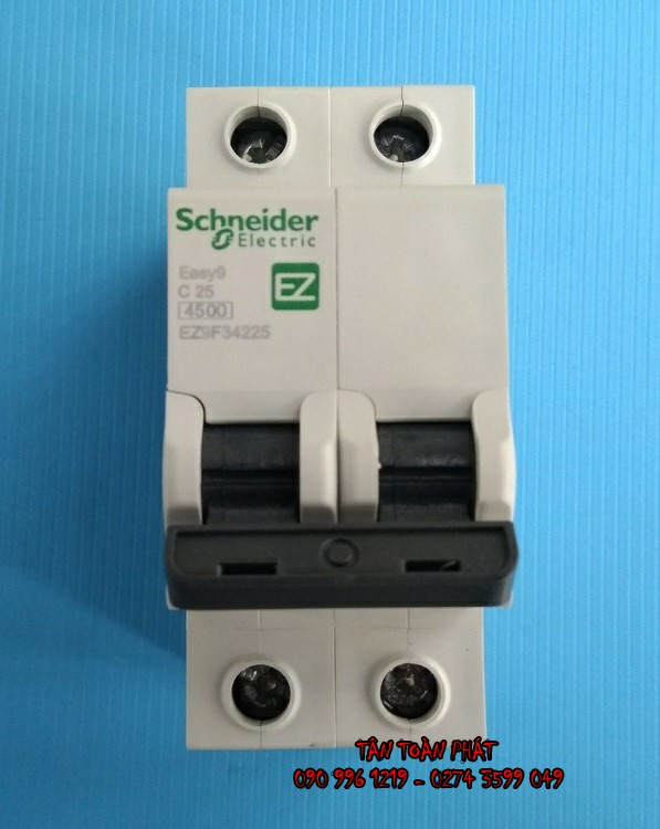 MCB 2P Schneider EZ9F --