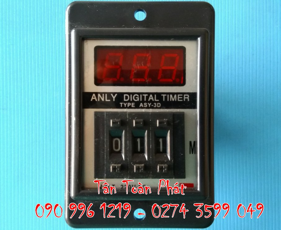 Timer Anly ASY-3D