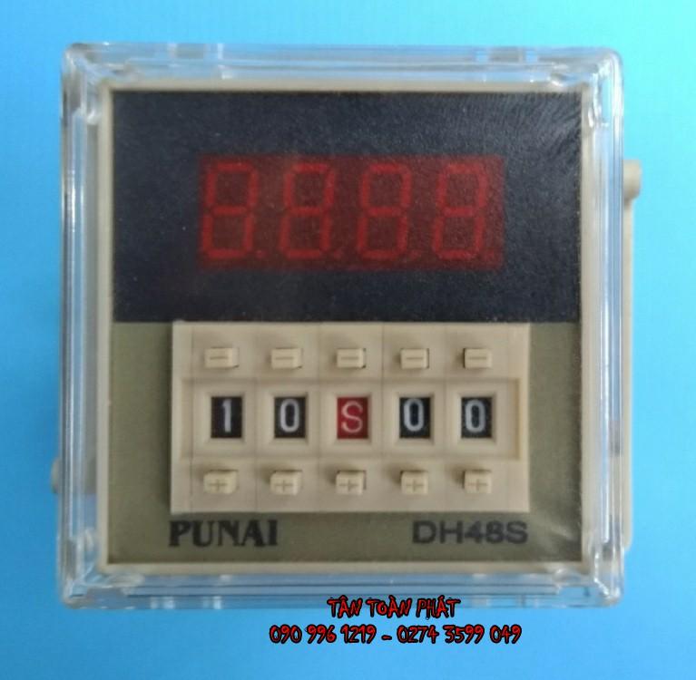 Timer Điện Tử Punai DH48F (Relay Thời Gian)