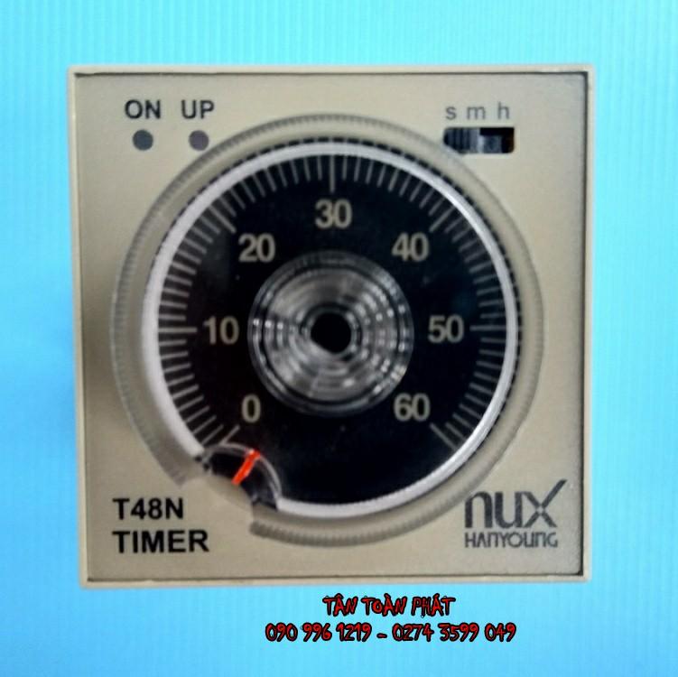 Timer Đơn T48N Hanyoung ( Relay Thời Gian )