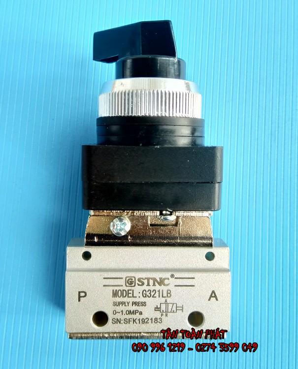 Van khí CT xoay 2 VT G321LB (STNC)
