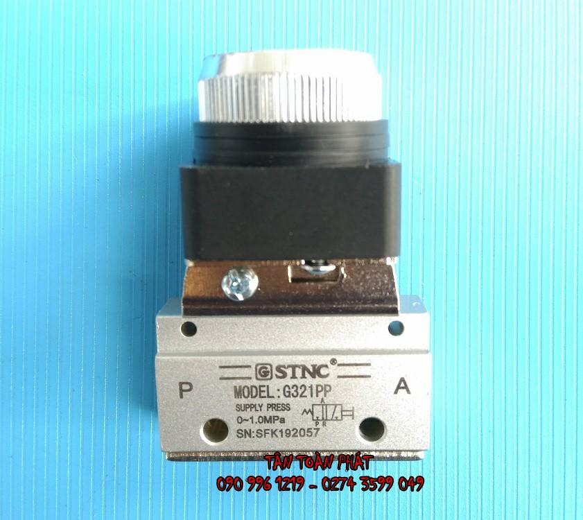 Van Khí Nút Nhấn Nhả G321PP (STNC)